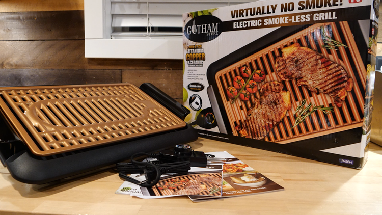 Gotham Steel Smokeless Electric Grill Try It Giveaway!