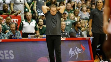 No. 11 Michigan State fragile ahead of game with No. 10 Duke