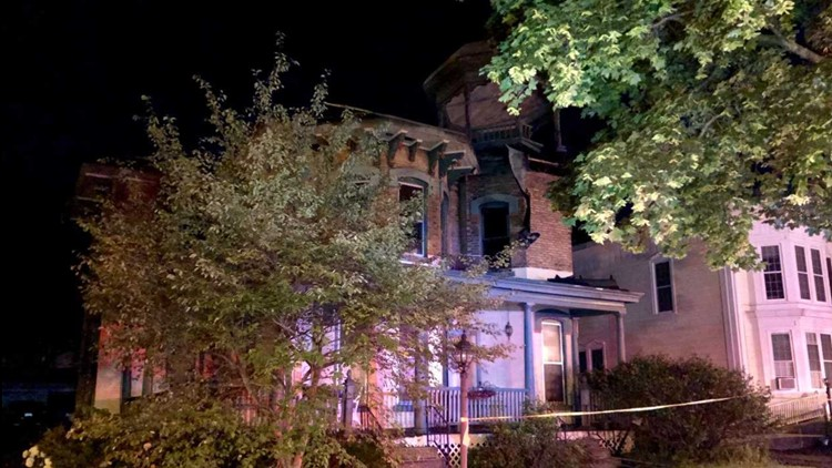 Historic Ionia home badly damaged in overnight fire