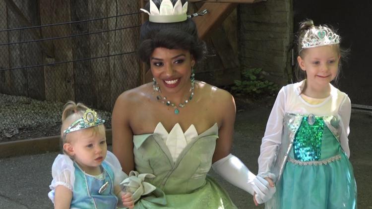 Princess Day brings out crowds at John Ball Zoo