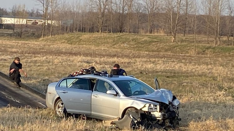 Man arrested following chase and crash into utility pole in Kent County