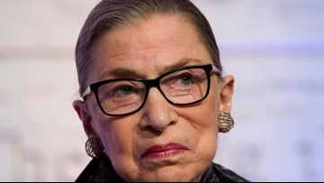 Justice Ruth Bader Ginsburg not among 4 justices set to attend SOTU