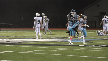Grand Rapids Christian wins on touchdown with 9 seconds left