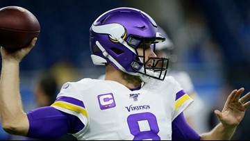 Kirk Cousins has 4 touchdown passes as Vikings surge past Lions 42-30
