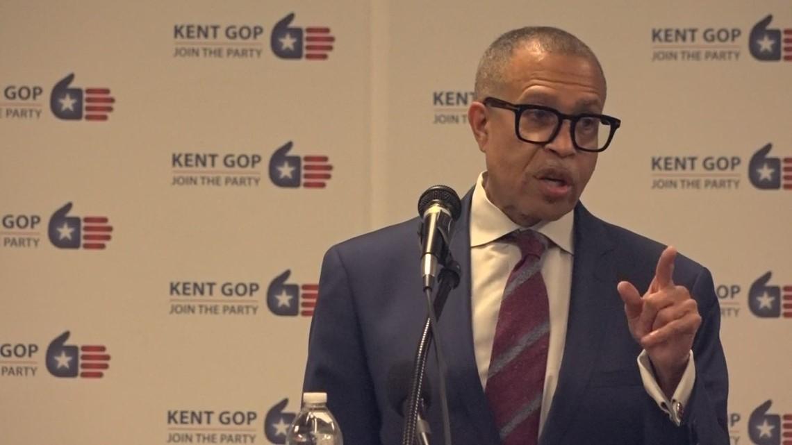 James Craig teases gubernatorial run at Kent GOP