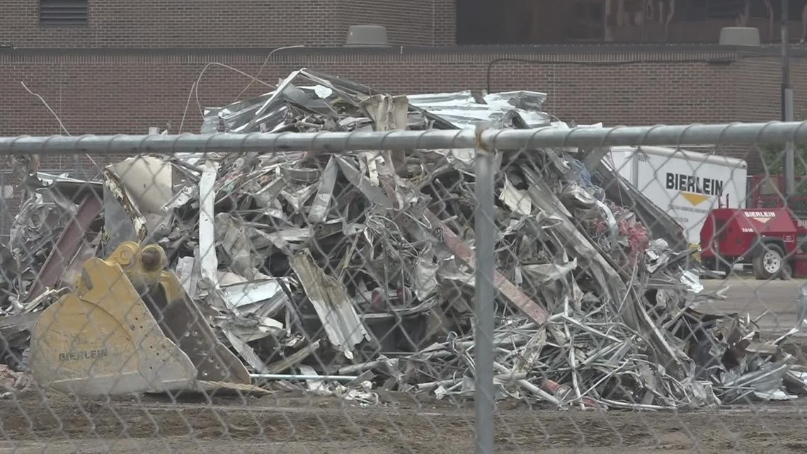 Demolition underway: What will become of Hackley Hospital in Muskegon?