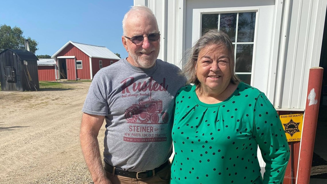 Foster parents retire after 56 years of service
