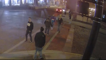 GRPD searching for assault, robbery suspects.