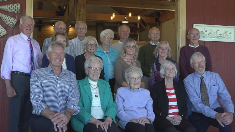 16 Kent City siblings back together after two years, celebrating world record