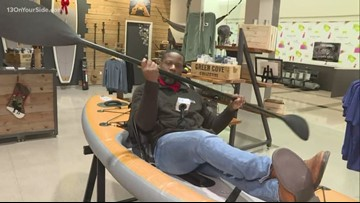 James Starks embarks on a Black Friday shopping spree