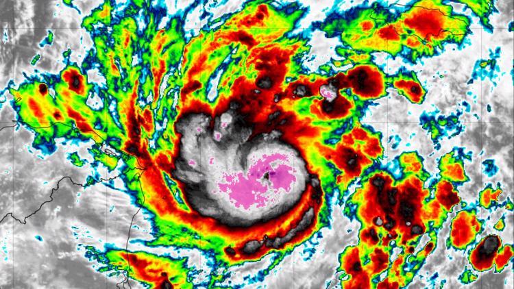 Tropical Storm Eta Impacts Florida