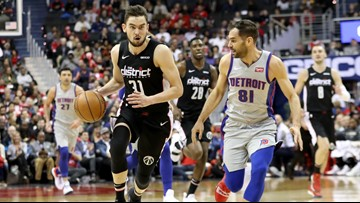 Wizards' defense steps up in 101-87 victory over Pistons