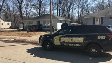 Large police presence in Muskegon ends in successful arrest