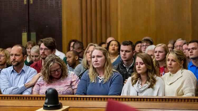 Dalton trial - victim family members