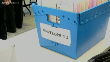 Absentee voters were more common this year
