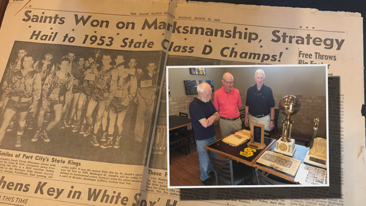 Nearly 70 years later, defunct Muskegon school's state title recaptured by players