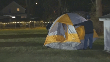 'Winter Slumberland' | Muskegon County holds sleep out as call to end homelessness