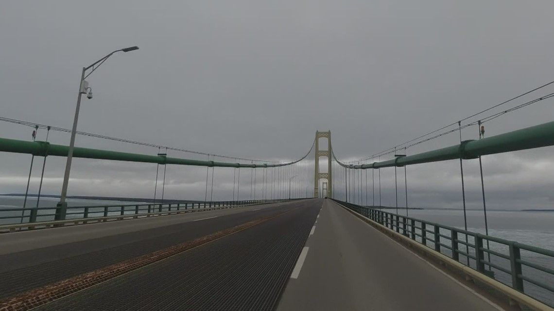 MIGHTY MAC FOR SALE: 4,000-lb pieces of Mackinac Bridge up for auction