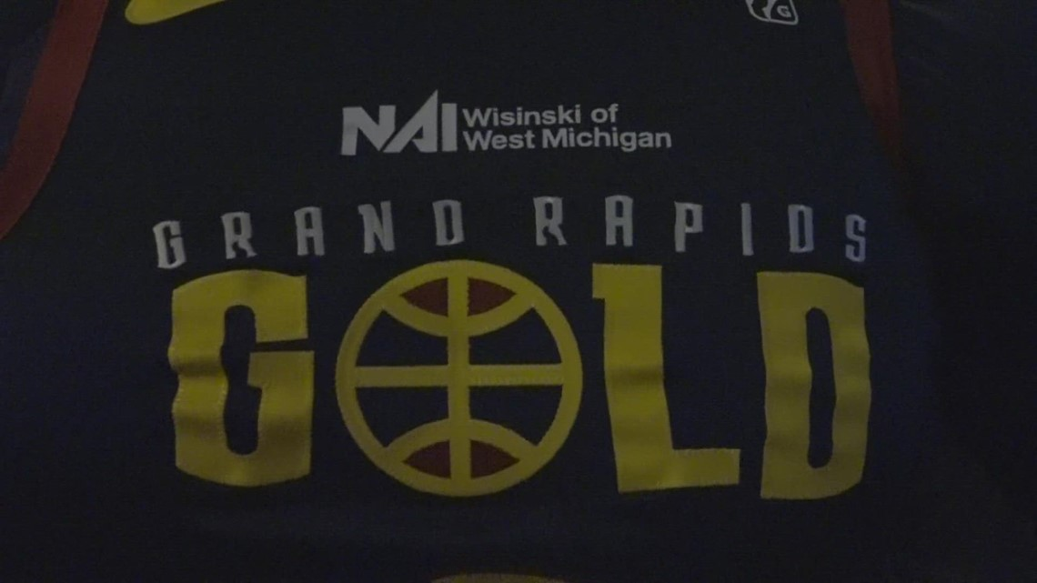 Grand Rapids Gold release new jerseys