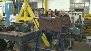 Lt. Governor Calley stresses importance of skilled trades