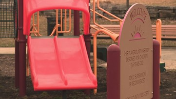 Playgrounds are closed, but parks remain open across West Michigan