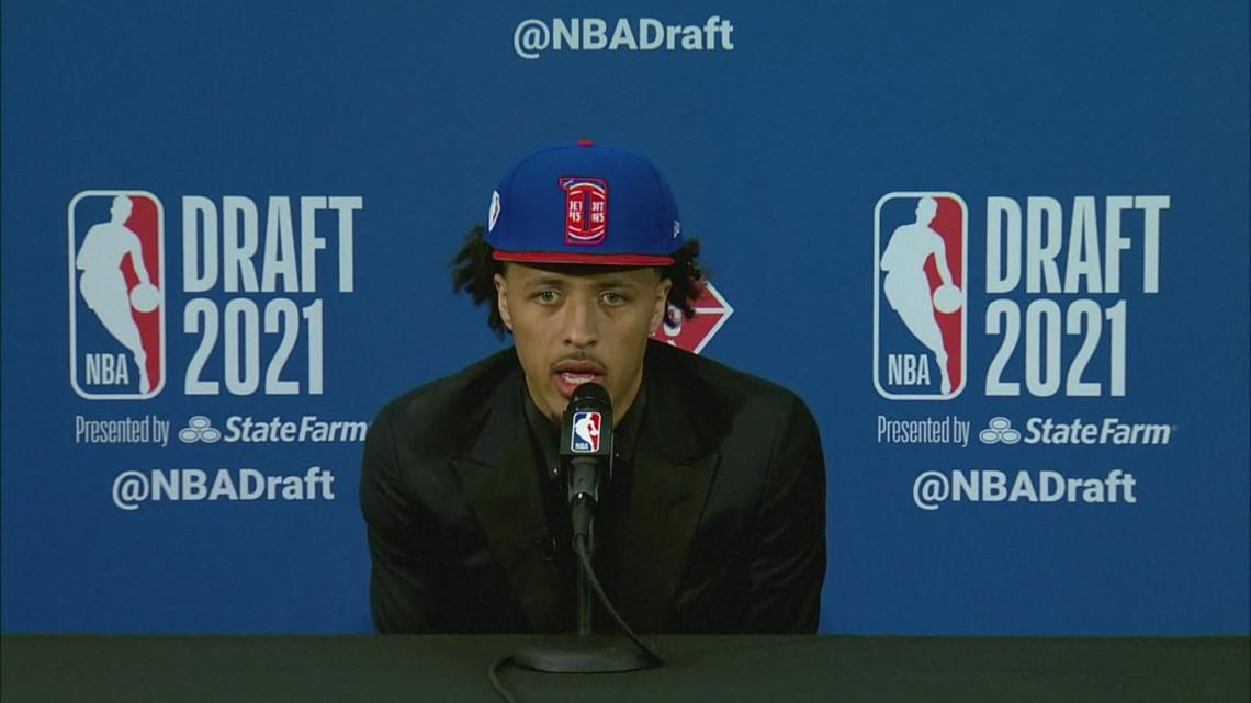 Detroit Pistons grab Cade Cunningham at No. 1 in NBA draft