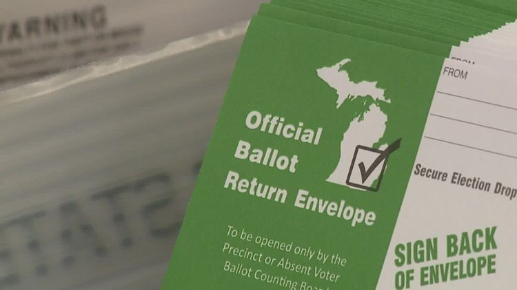 What happens to absentee ballot after it's turned in?