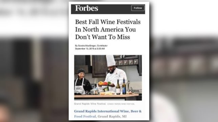 GR Wine, Beer & Food Festival