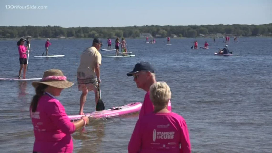 High water levels relocates Standup for the Cure
