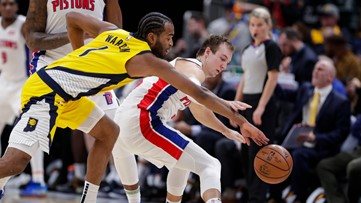 Short-handed Pacers rally for 112-106 win over Pistons