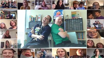 Helen DeVos Children's Hospital creates a 'virtual choir' to lift patients' spirits