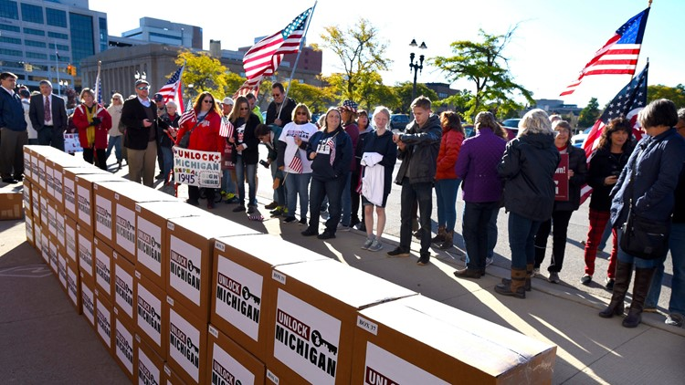 Ballot drive targets Michigan law that underpins virus rules