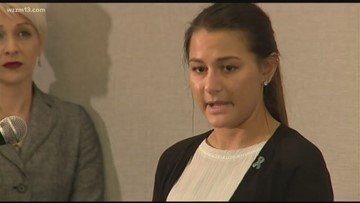 Student who sues MSU over gang rape allegations says she is 'empowered to do this'