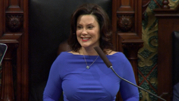 Gov. Whitmer responds to wardrobe criticism after State of the State