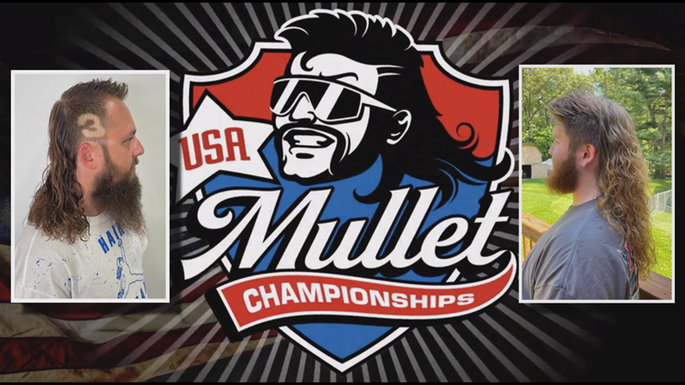 MULLET MEN: Michigan hair-growing duo reach Top 25 in national mullet competition