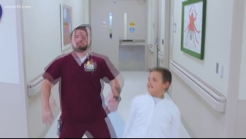 Ionia boy uses Justin Timberlake song to fight against cancer