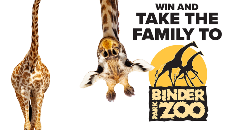 Enter for a chance to win tickets to Binder Park Zoo!