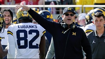 Jim Harbaugh closes 4th straight season with 2 losses in row