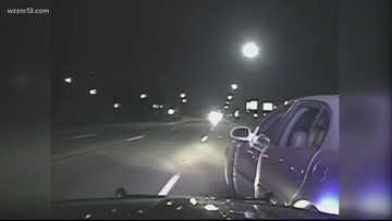 Wyoming police officer stops wrong-way driver