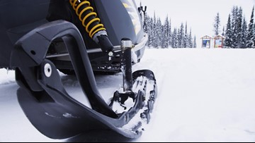 Aero Med transports snowmobile driver to hospital after crash