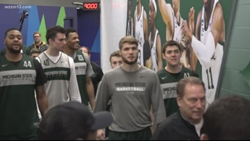 MSU is getting ready for Saturday's showdown