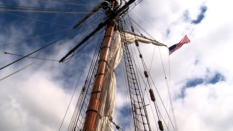 'A step back in time': Tall ship tours return to Tulip Time