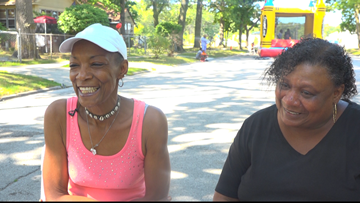 2 Muskegon Heights women host back to school block party for 10th year