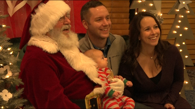 Kids meet Santa in Grand Rapids without waiting in line