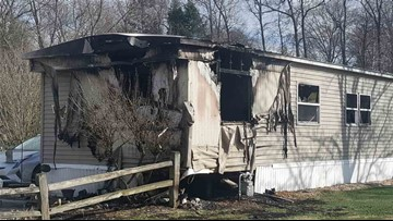 Fire damages mobile home in Spring Lake, owner's son disappears