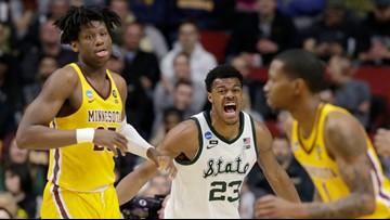 Michigan State ends Sweet 16 mini-drought, beating Minnesota 70-50