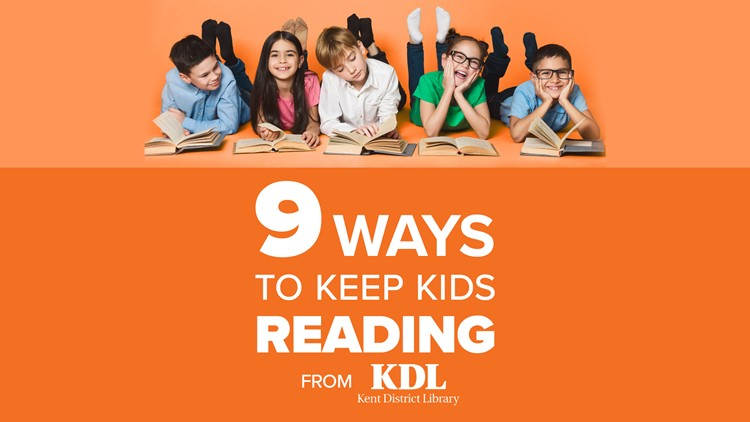 9 ways to encourage summer reading with your kids