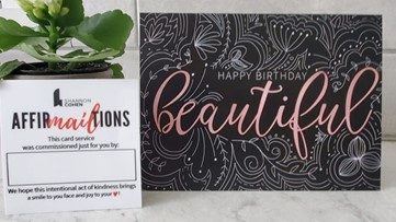 Entrepreneur adds snail mail greeting card service
