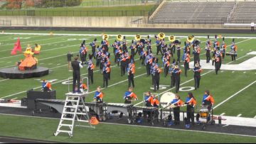 High school marching bands compete at Jenison, East Kentwood