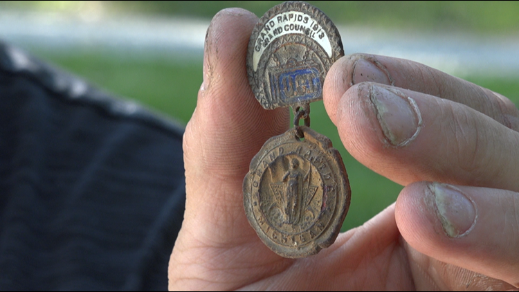 Michigan treasure hunter digging up history across the state